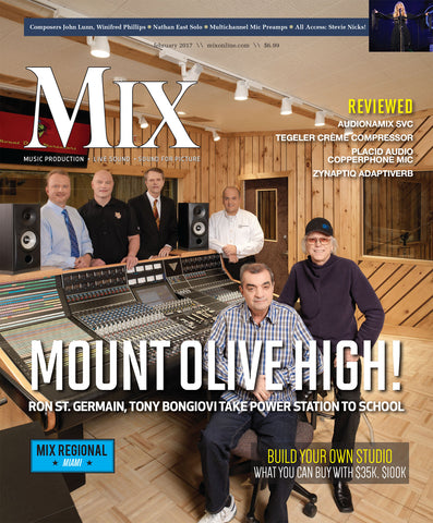 MIX - February 2017 - Mount Olive High! Ron St. Germain, Tony Bongiovi Take Power Station to School