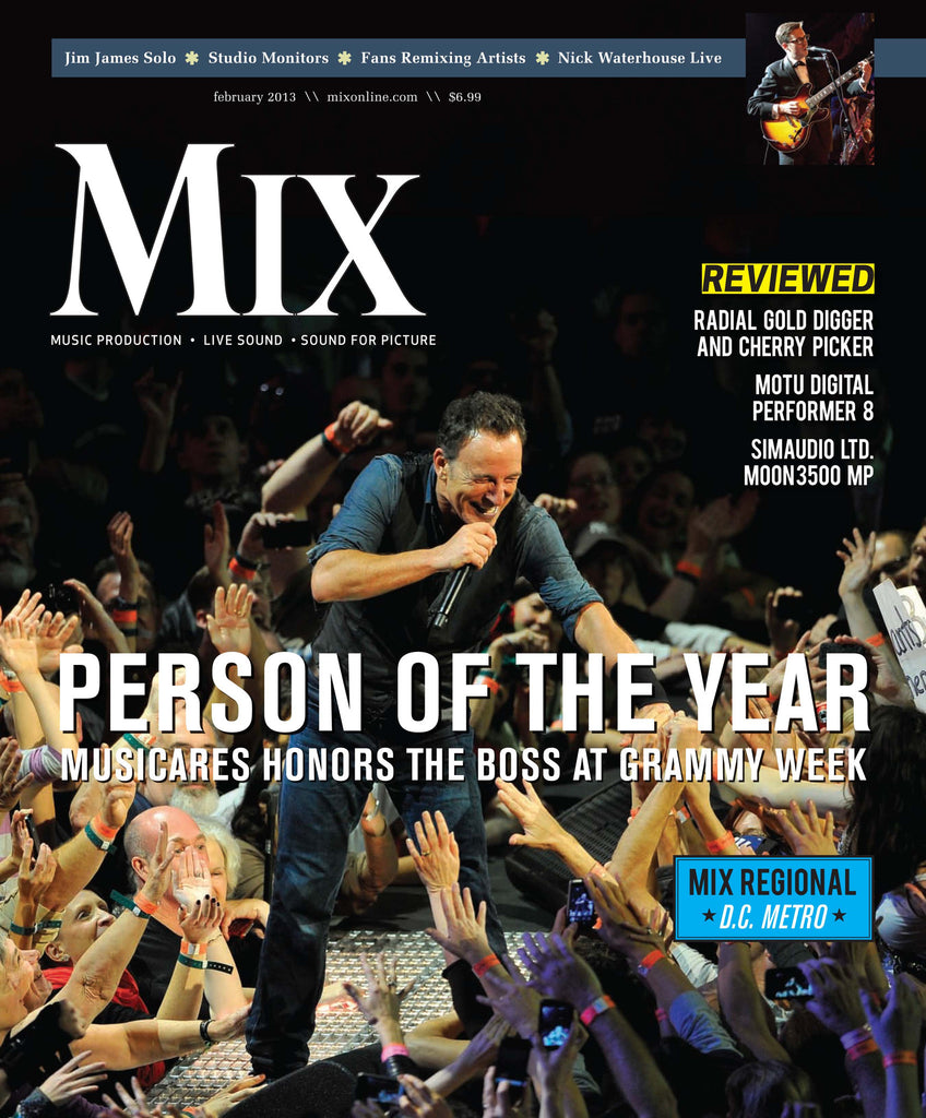 MIX - February - 2013 - Bruce Springsteen