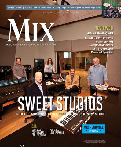 MIX - January 2015 - Sweet Studios