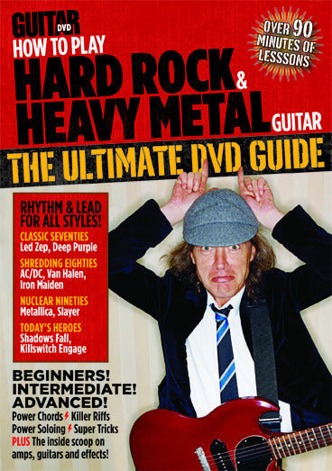 How to Play Hard Rock & Heavy Metal Guitar for Beginners DVD - NewBay Media Online Store