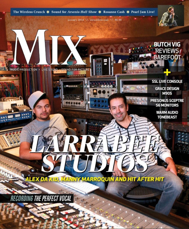 MIX - January 2014 - Larrabee Studios