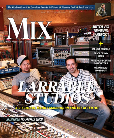 MIX - January 2014 - Larrabee Studios - NewBay Media Online Store