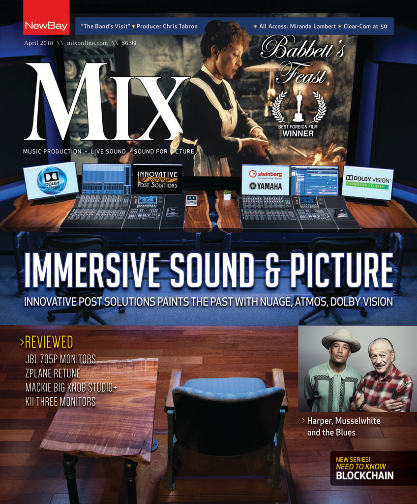 MIX - April 2018 - Immersive Sound and Picture - NewBay Media Online Store