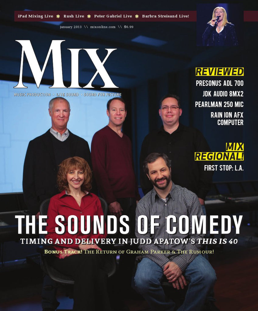 MIX - January - 2013 - Sounds of Comedy