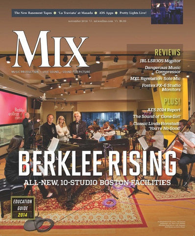 MIX - November 2014 - Berklee Rising - NewBay Media Online Store