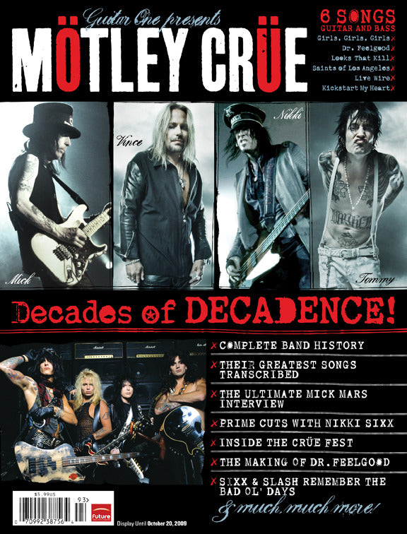 Guitar Legends - Guitar One Presents Mötley Crüe