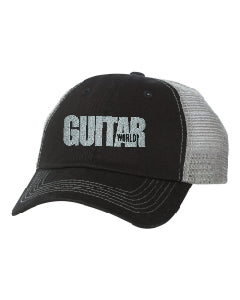 Guitar World Logo Trucker Mesh Hat with Contrast Stitch - NewBay Media Online Store
