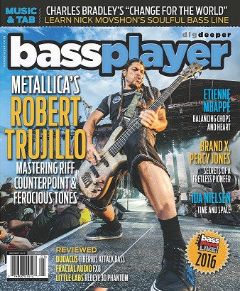 Bass Player - January 2017 - Robert Trujillo
