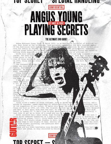 Angus Young Playing Secrets - NewBay Media Online Store