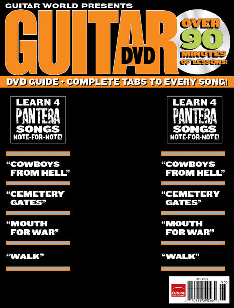 How to Play the Best of Pantera DVD
