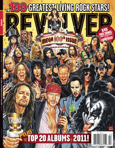 Revolver - Jan/Feb-12 - The 100 Greatest Living Rock Stars