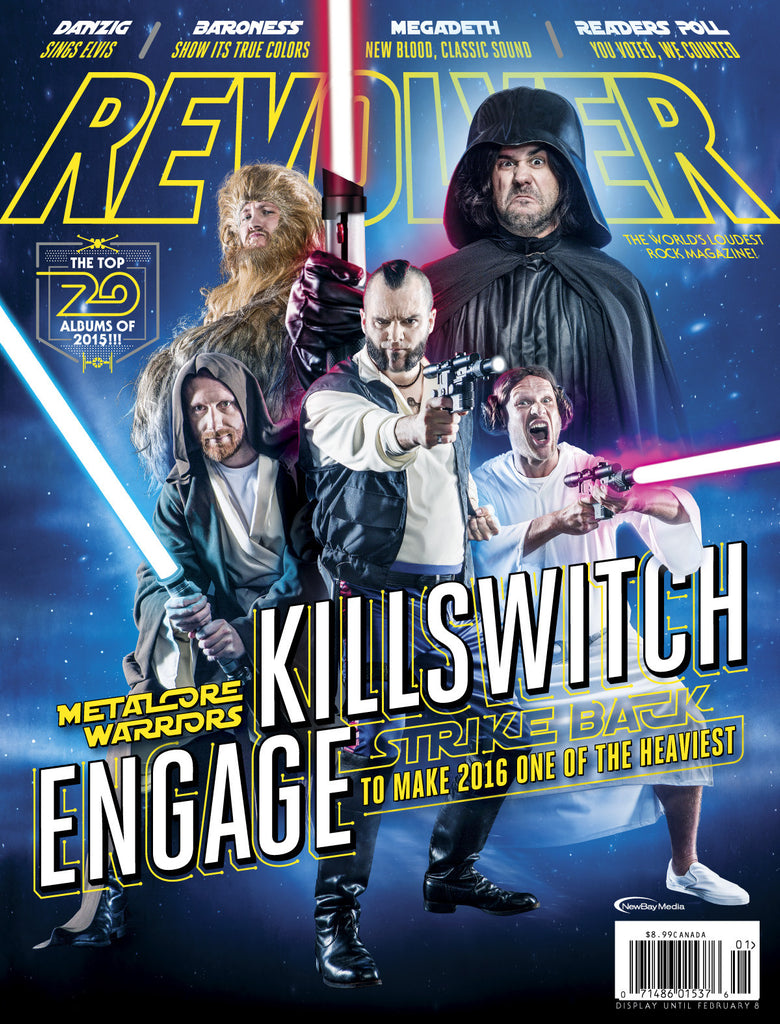 Revolver January 2016 Killswitch Engage