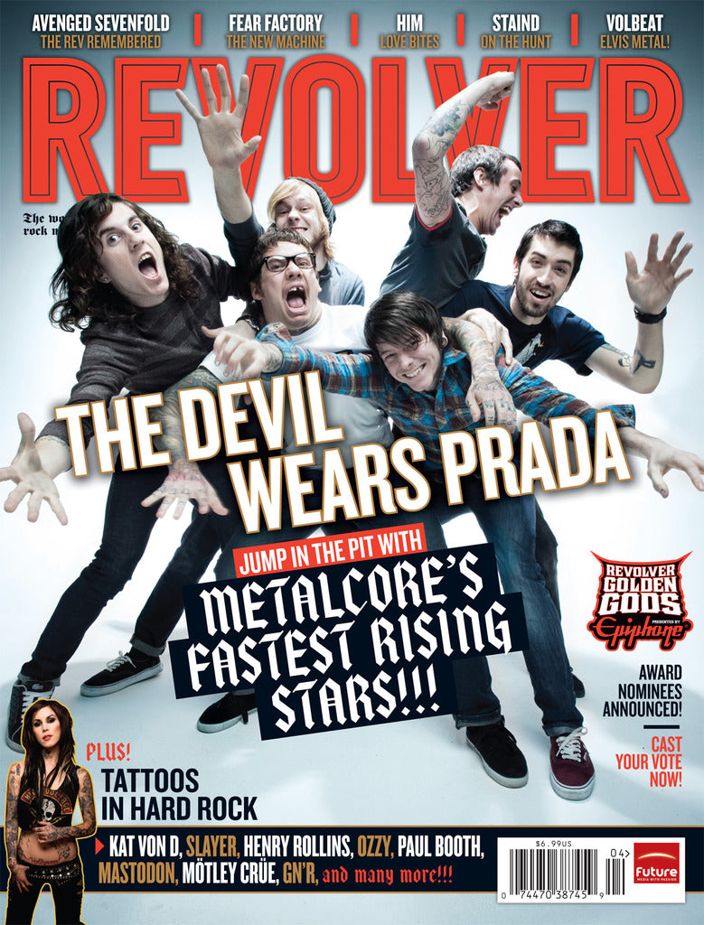 Revolver - Mar/Apr-10 - The Devil Wears Prada