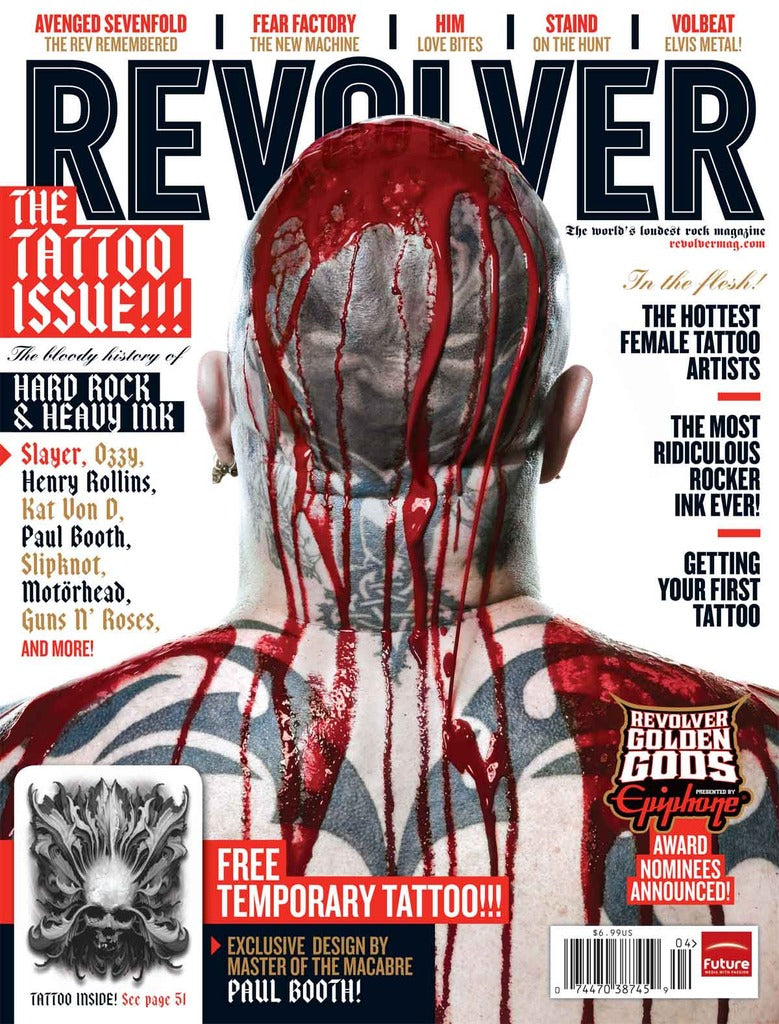 Revolver - Mar/Apr-10 - The Tattoo Issue