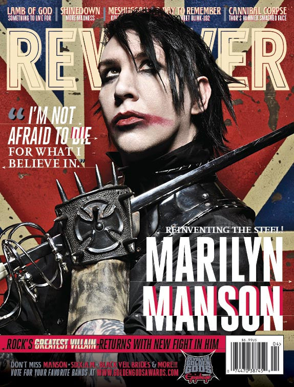 Revolver-March/April 2012-Marilyn Manson