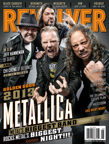 Revolver - Jun/July-2013 - Metallica