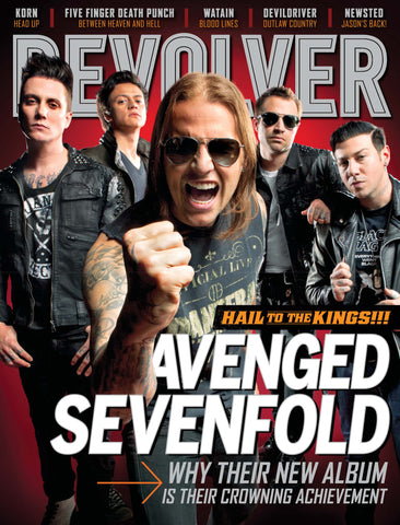 Revolver - Aug/Sept-2013 - Avenged Sevenfold