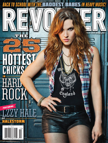 REVOLVER - September/October - 2012 - 25 Hottest Chicks in Hard Rock