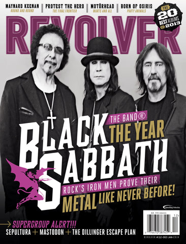 Revolver - Dec/Jan -2014 - Black Sabbath