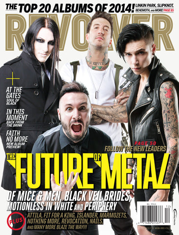 Revolver - December 2014 - The Future of Metal