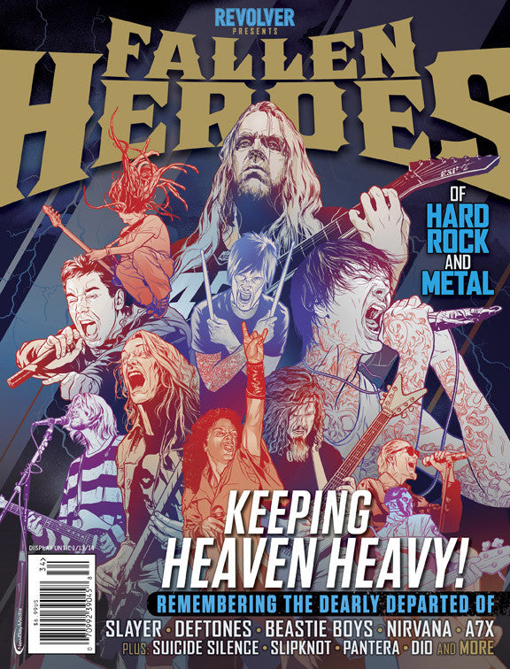 Revolver Presents Fallen Heroes of Hard Rock & Metal