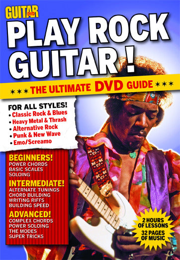 Play Rock Guitar for Beginners DVD - NewBay Media Online Store