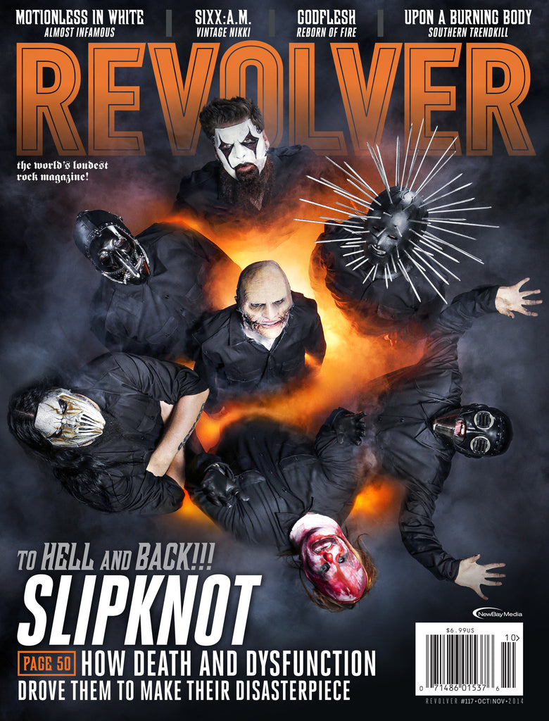 Revolver - Oct/Nov - 2014 - Slipknot