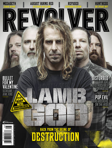 Revolver - Aug/Sep 2015 - Lamb of God