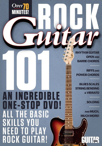 Rock Guitar 101 for Beginners DVD