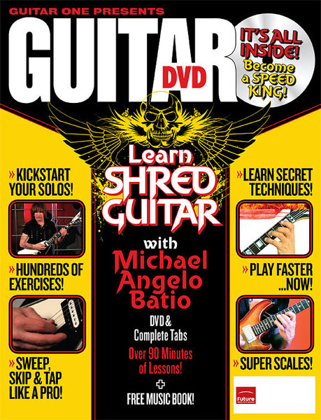 Learn Shred Guitar: The Ultimate DVD Guide