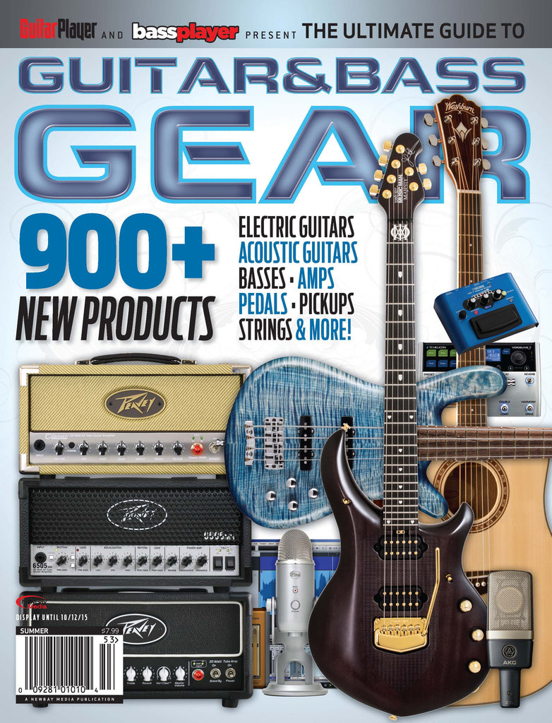 The Ultimate Guide to Guitar & Bass Gear - 2015