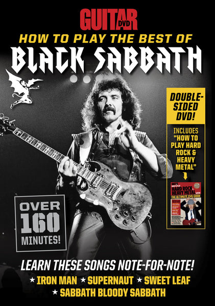 How to Play the Best of Black Sabbath DVD
