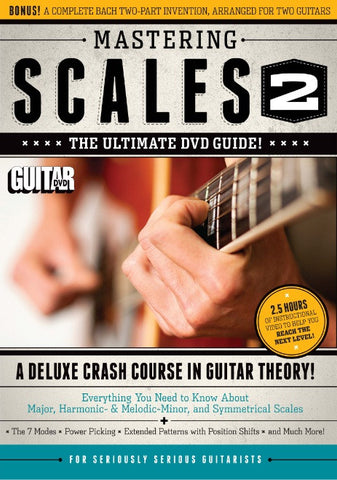 Mastering Scales Part 2 - DVD - NewBay Media Online Store