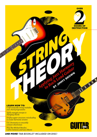 String Theory - Applying Jazz Harmony to Rock Lead Guitar