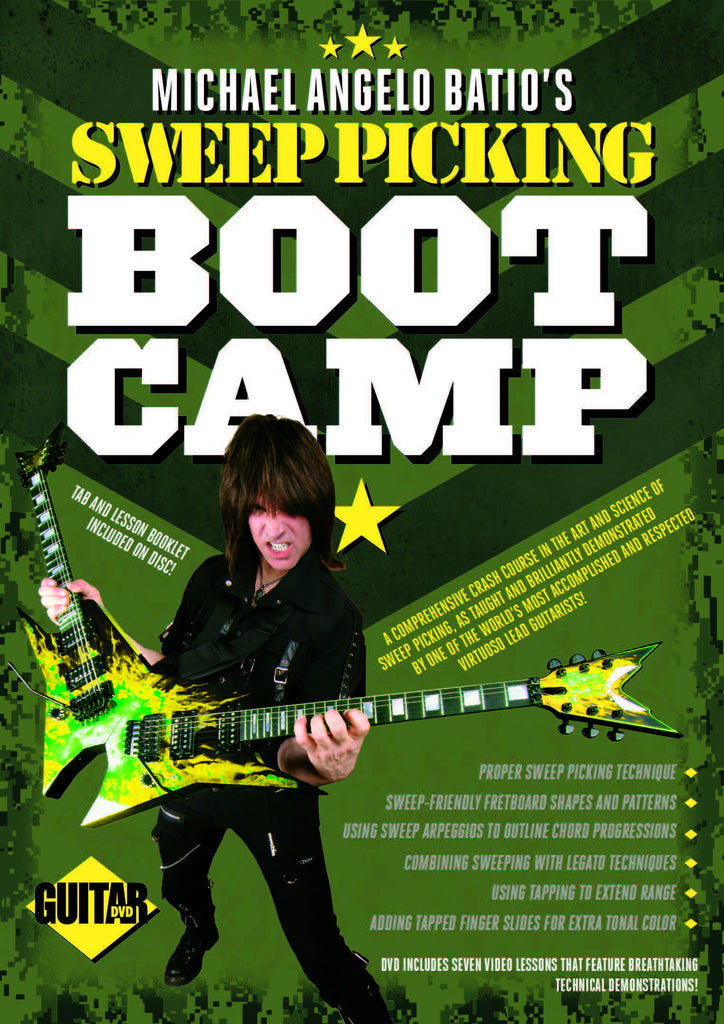 Sweep Picking Boot Camp