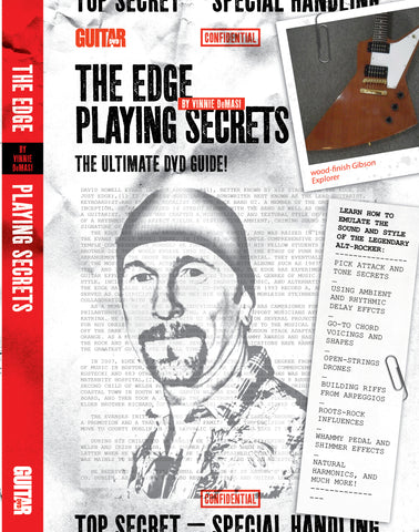 The Edge Playing Secrets DVD