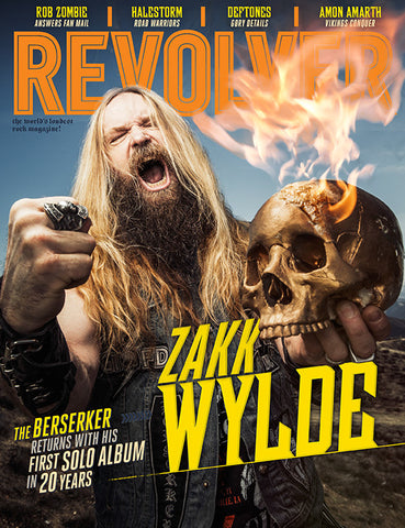 Revolver April/May 2016 Zakk Wylde