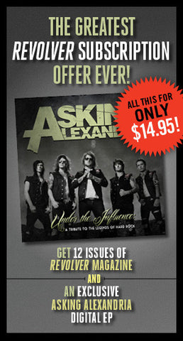 Revolver Subscription & Exclusive Asking Alexandria Digital EP