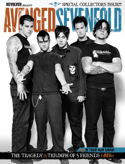 "REVOLVER : THE BOOK OF AVENGED SEVENFOLD ""BOXSET-EXCLUSIVE GROUP COVER"