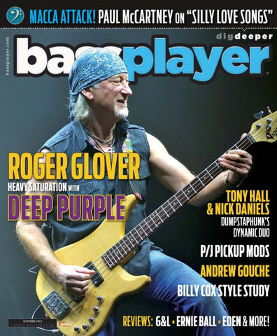 Bass Player - October 2013 - Roger Glover - NewBay Media Online Store
