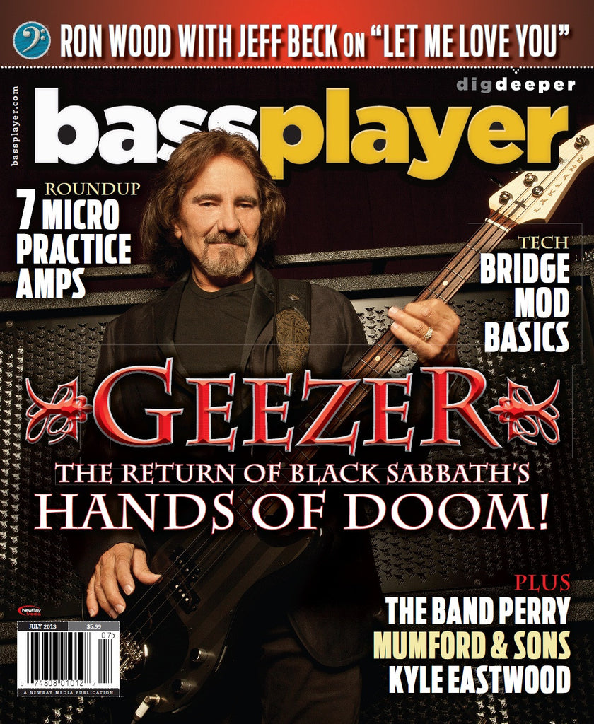 Bass Player - July 2013 - Geezer Butler - NewBay Media Online Store