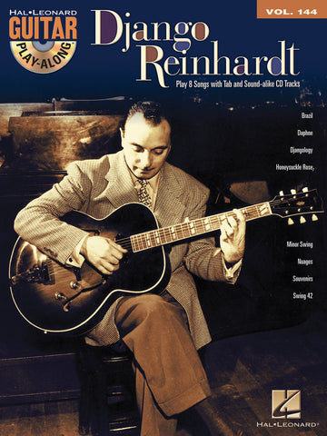 Django Reinhardt Guitar Play-Along - NewBay Media Online Store