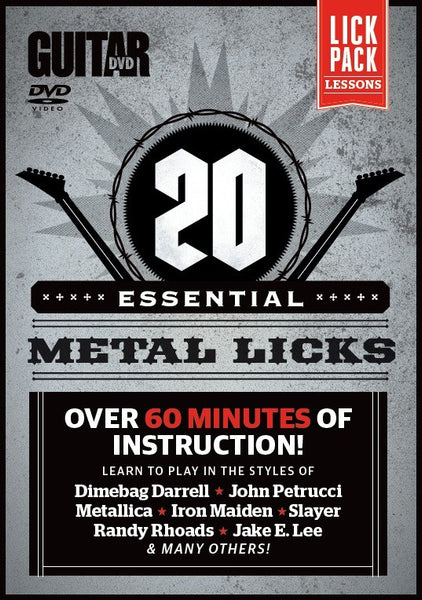 20 Essential Metal Licks - NewBay Media Online Store