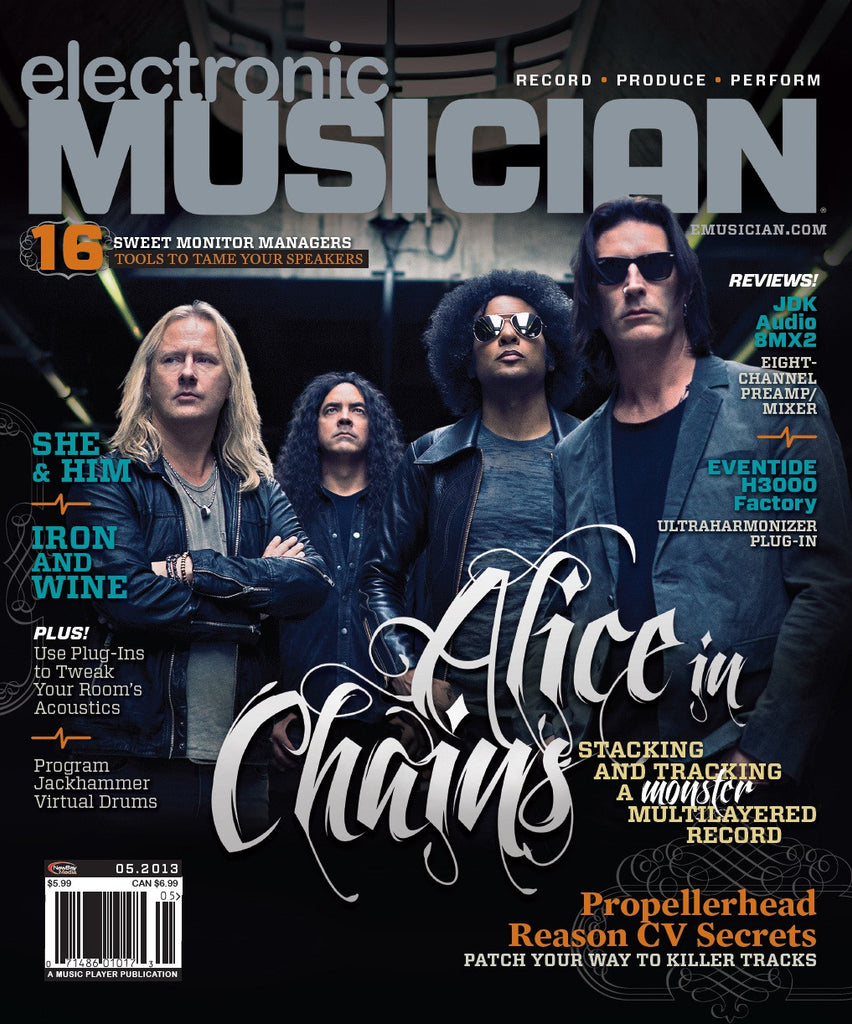 electronic MUSICIAN - May - 2013 -  Alice in Chains - NewBay Media Online Store