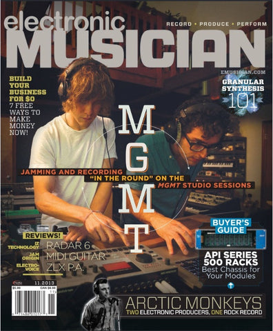 electronic MUSICIAN - November - 2013 - MGMT - NewBay Media Online Store