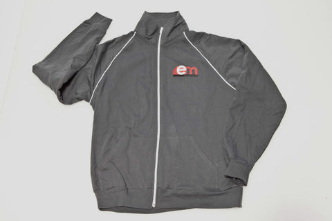 EM Zipper Track Jacket - Gray