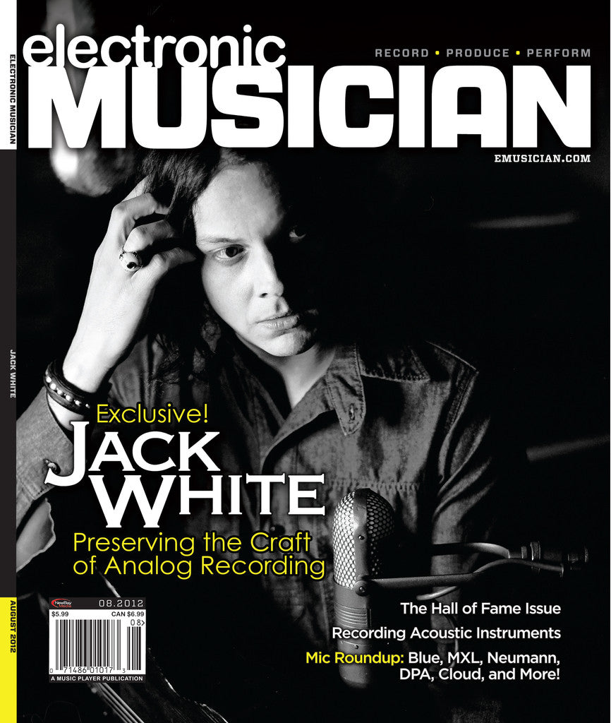 electronicMUSICIAN - Aug - 2012 Jack White - NewBay Media Online Store