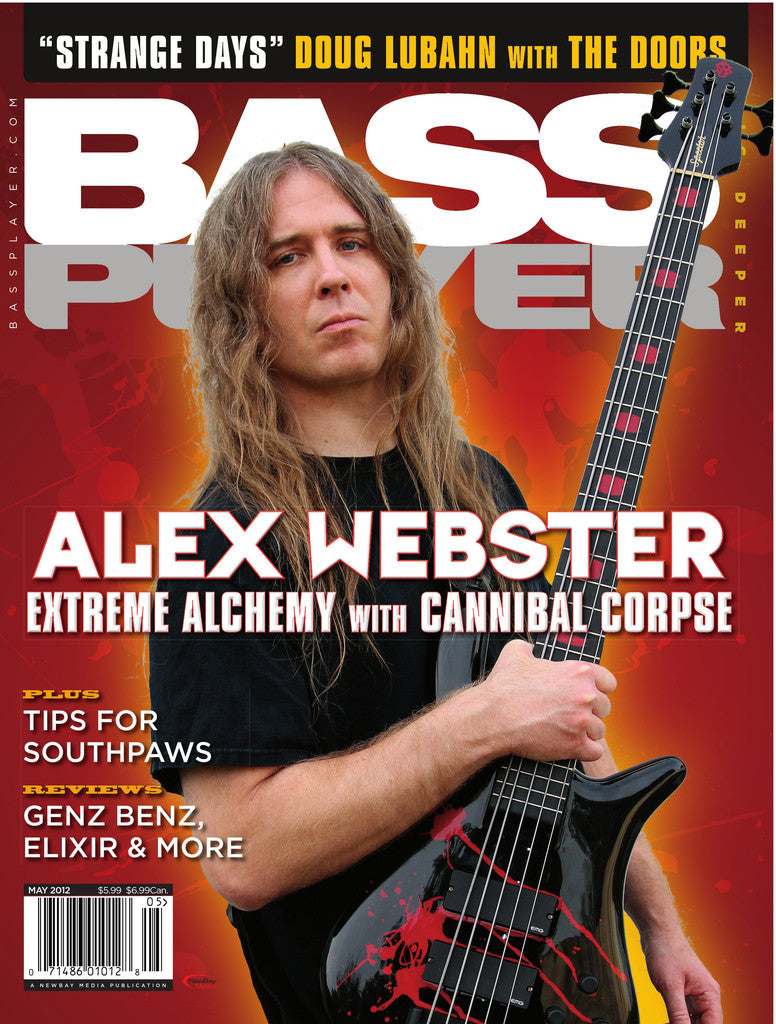BassPlayer - May - 2012  Alex Webster - NewBay Media Online Store
