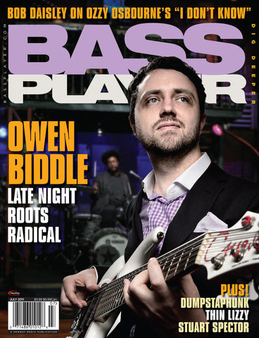 BassPlayer Jul - 2011 Owen Biddle - NewBay Media Online Store