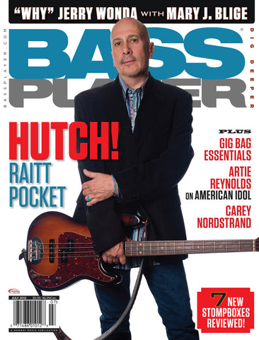 BassPlayer - July - 2012 Hutch Hutchinson - NewBay Media Online Store